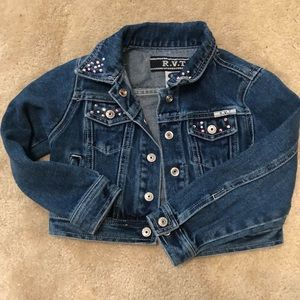 Other - Girls Bling Jean Jacket
